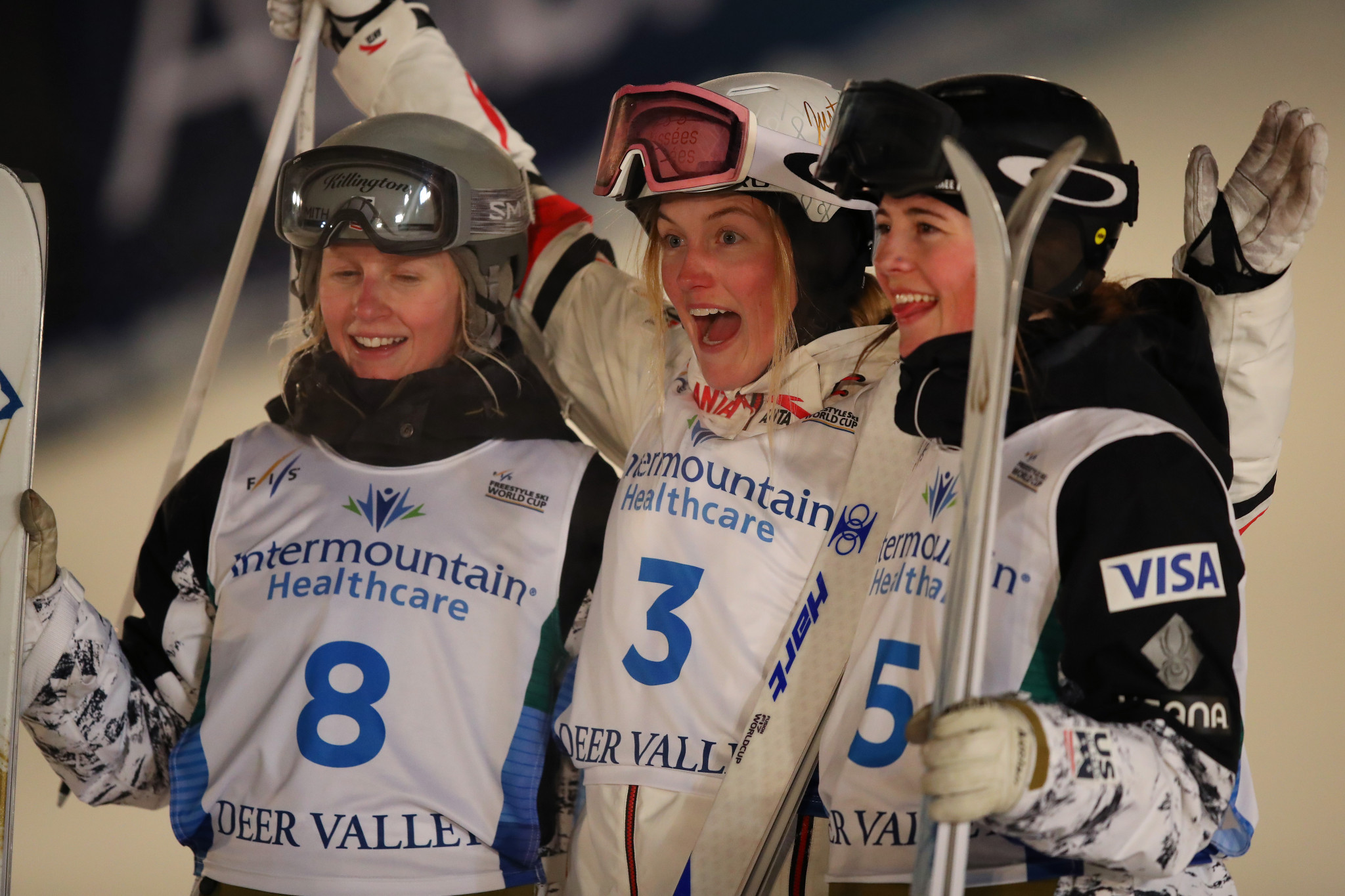 Dufour-Lapointe wins Moguls World Cup leg as Laffont's perfect season ends
