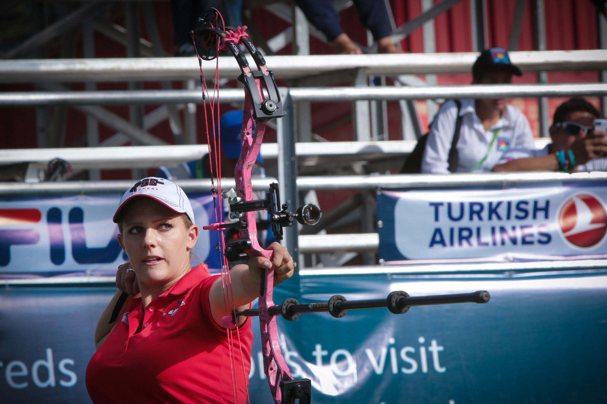 American joy as Pearce victorious at Indoor Archery World Series Finals in Las Vegas