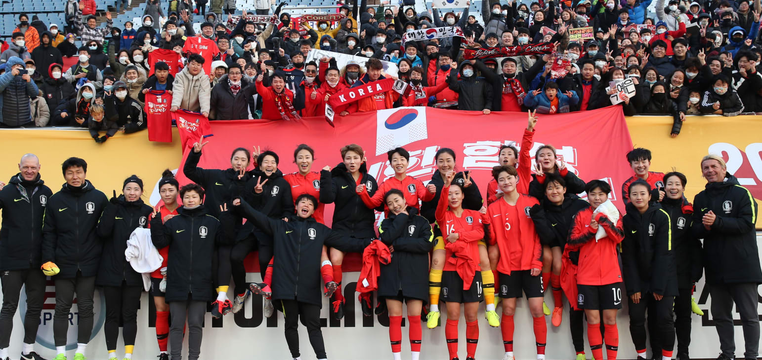 South Korea finish top of group at AFC Women's Olympic Qualifying Tournament