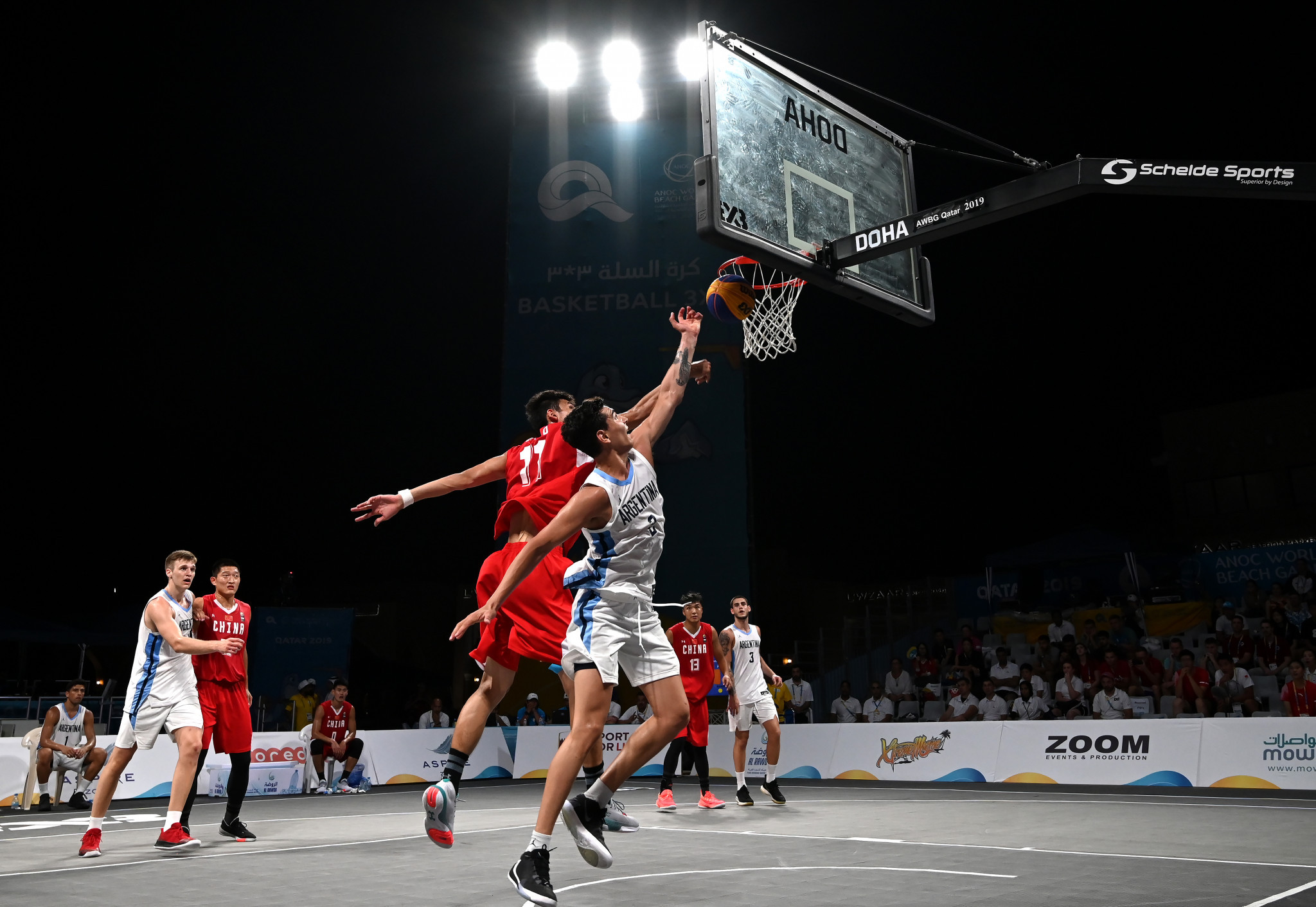 3x3 basketball has quickly become a staple of multi-sport events ©Getty Images