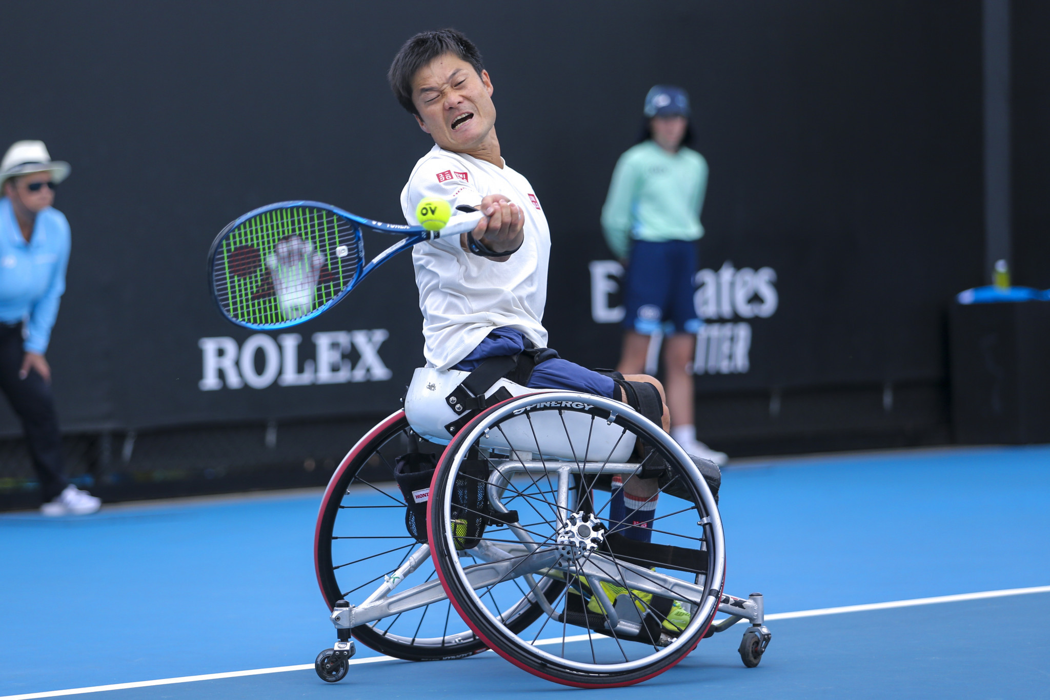 Kunieda nominated for IPC athlete of the month award after Australian Open win