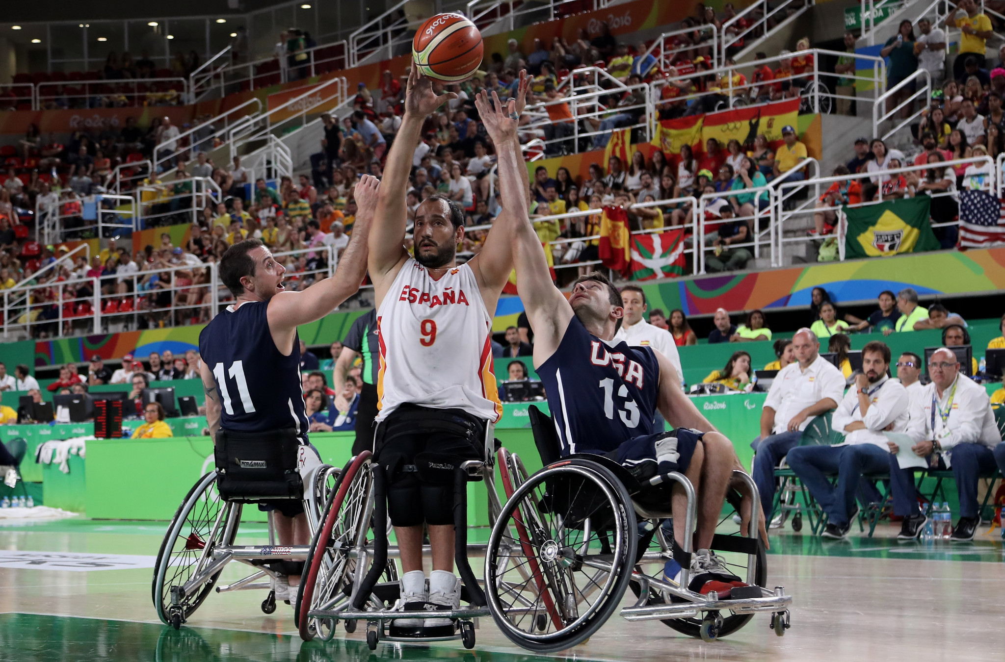 Wheelchair basketball could miss out on Tokyo 2020 should an approved action plan not be implemented ©Getty Images