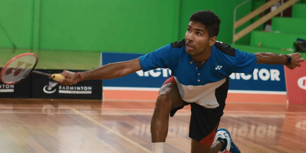 Abhinav Manota is the top seed in the men's competition at the Oceania Badminton Championships ©BWF