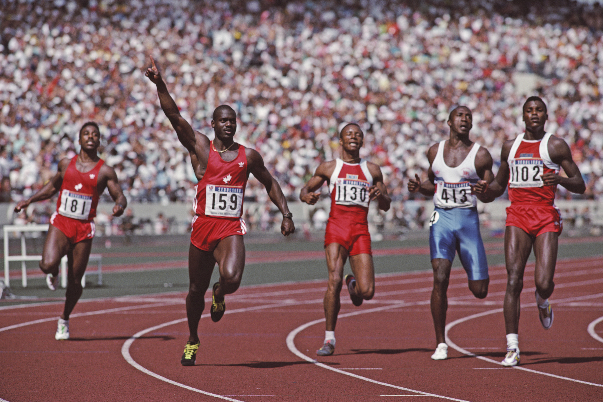 The 100 metres final at the Seoul 1988 Olympic Games is one of sports most infamous episodes of doping ©Getty Images