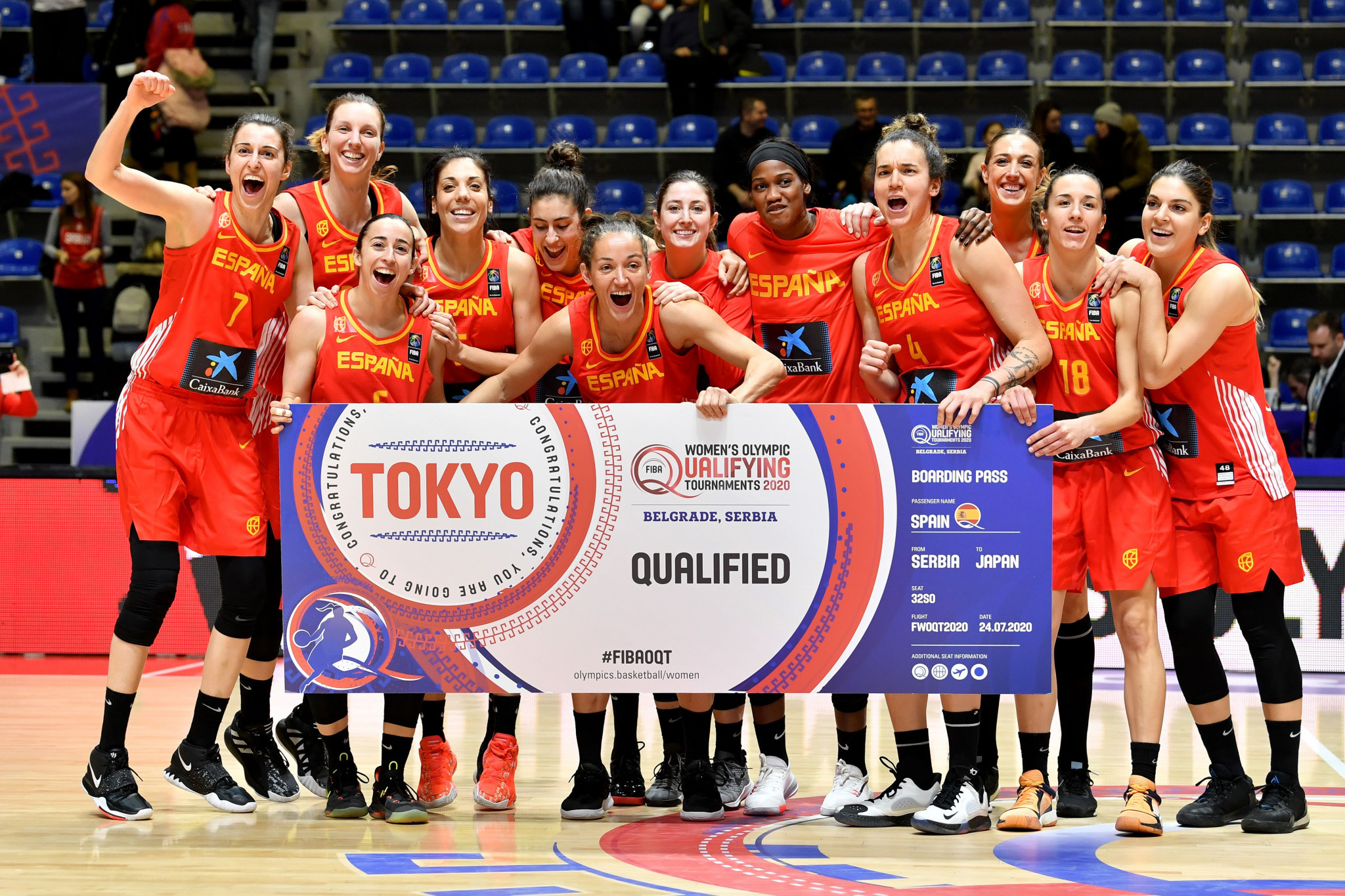Spain among qualifiers to Tokyo 2020 women's basketball tournament
