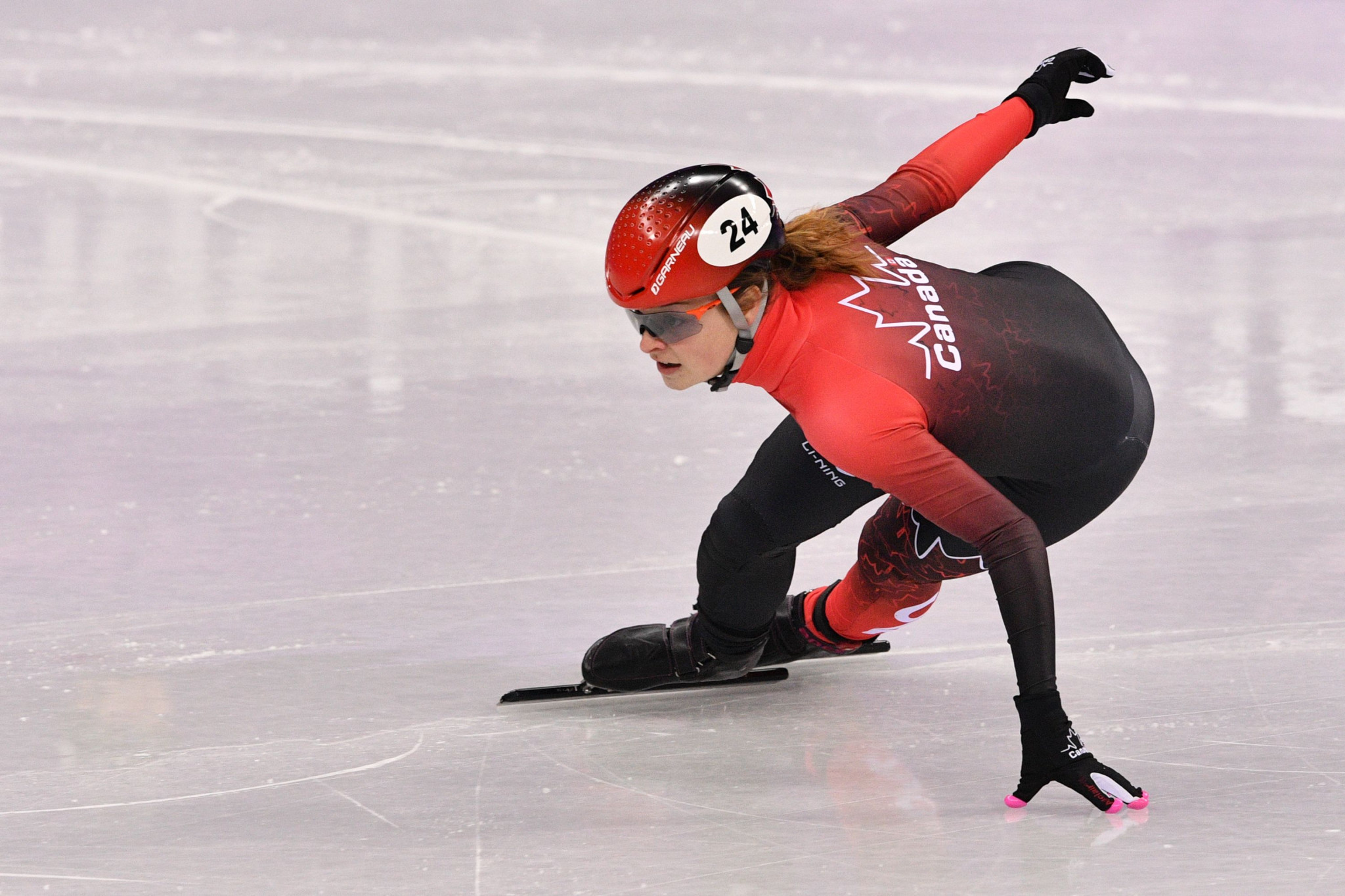 Boutin maintains winning streak at ISU Short Track World Cup in Dresden