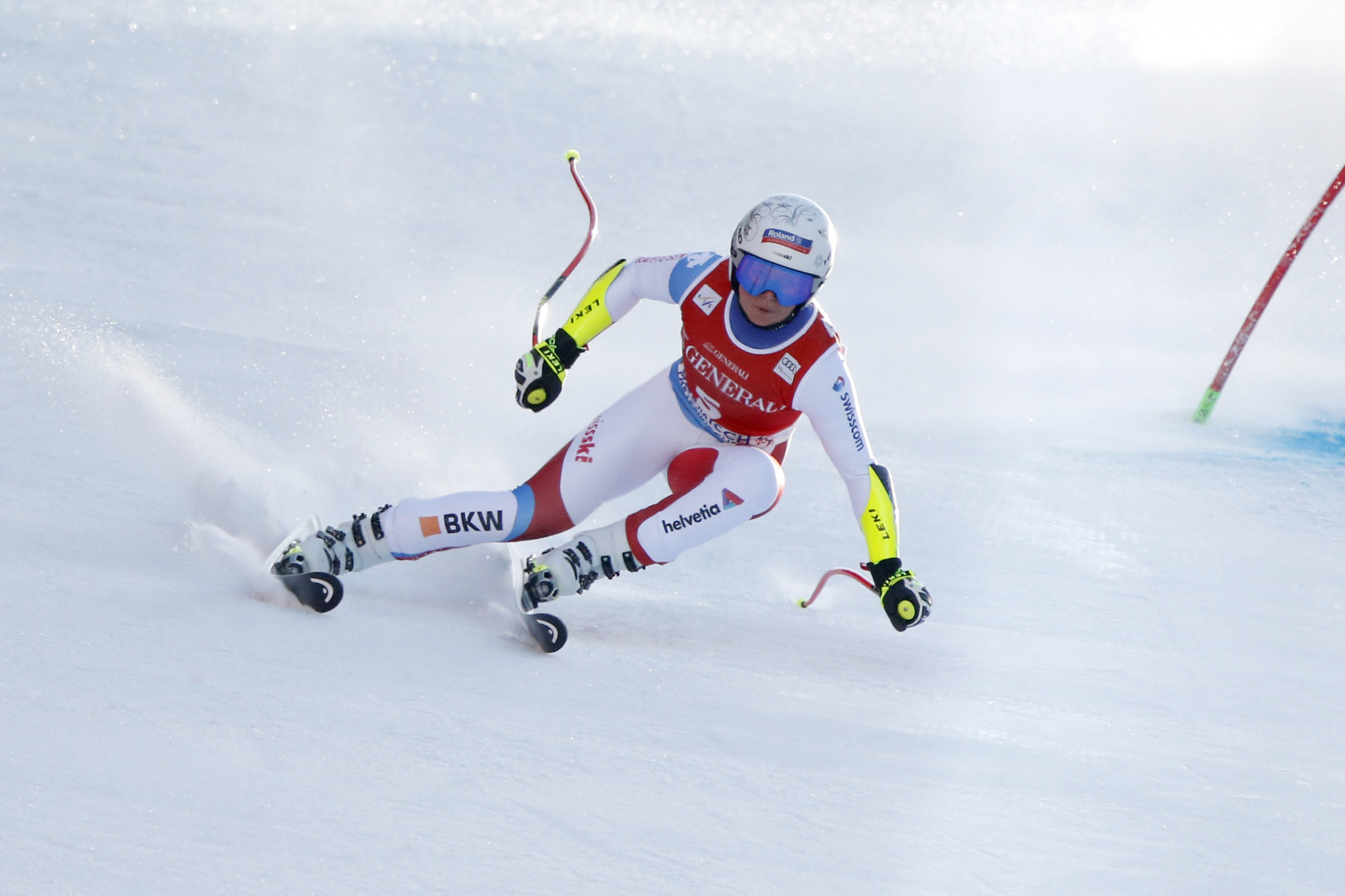 Suter moves to top of FIS Alpine Ski World Cup Super-G standings