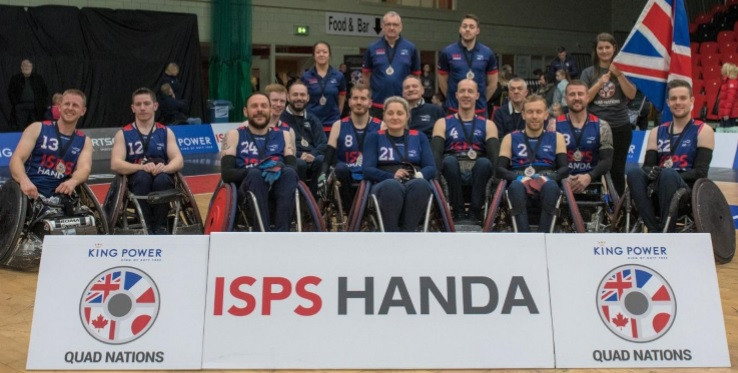 Great Britain Wheelchair Rugby turns down chance to resume training outdoors