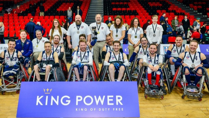 The United States wheelchair rugby squad will be competing in the Quad Nations this month ©Quad Nations