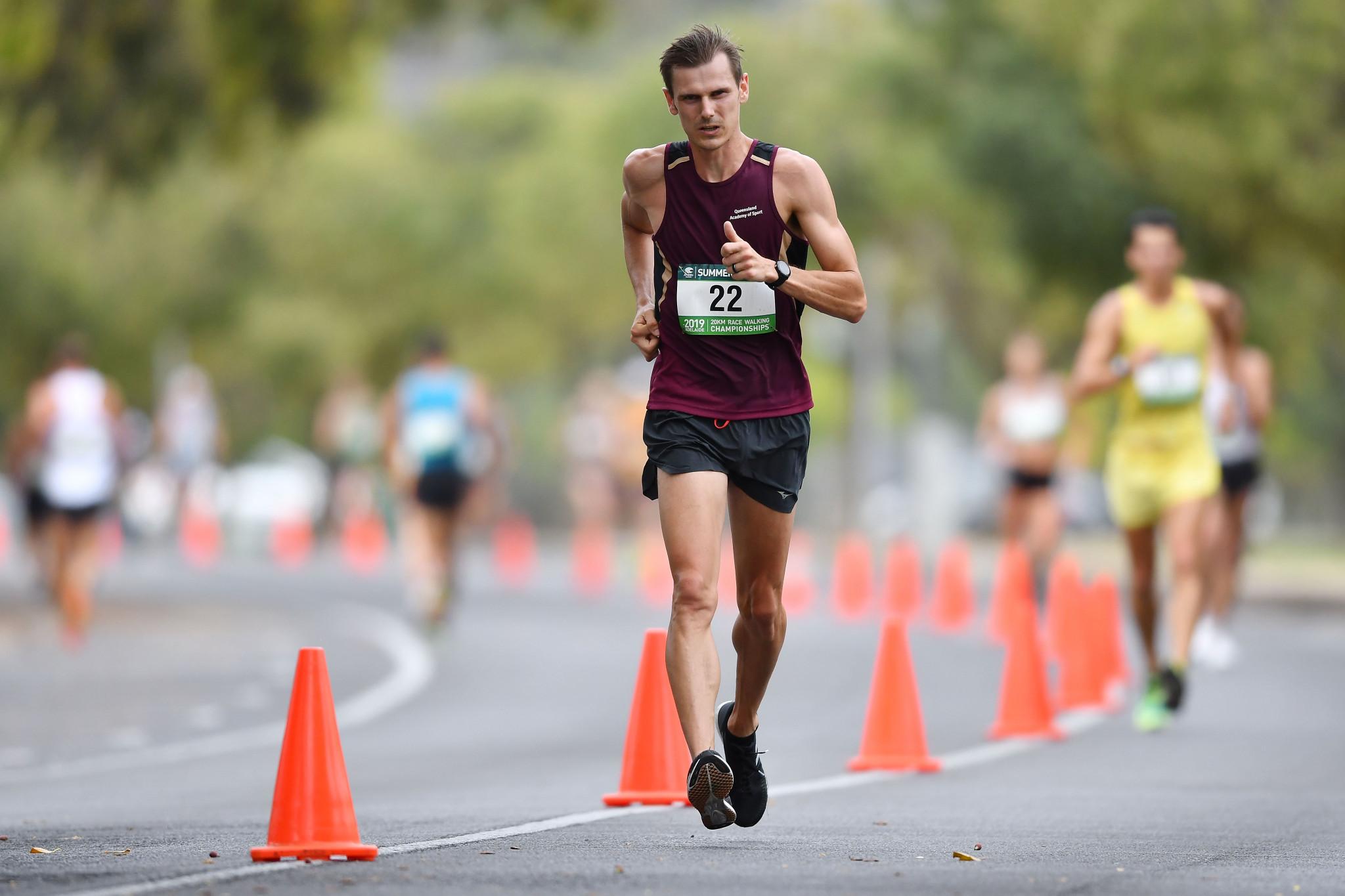 Australian race walkers confirm Tokyo 2020 places