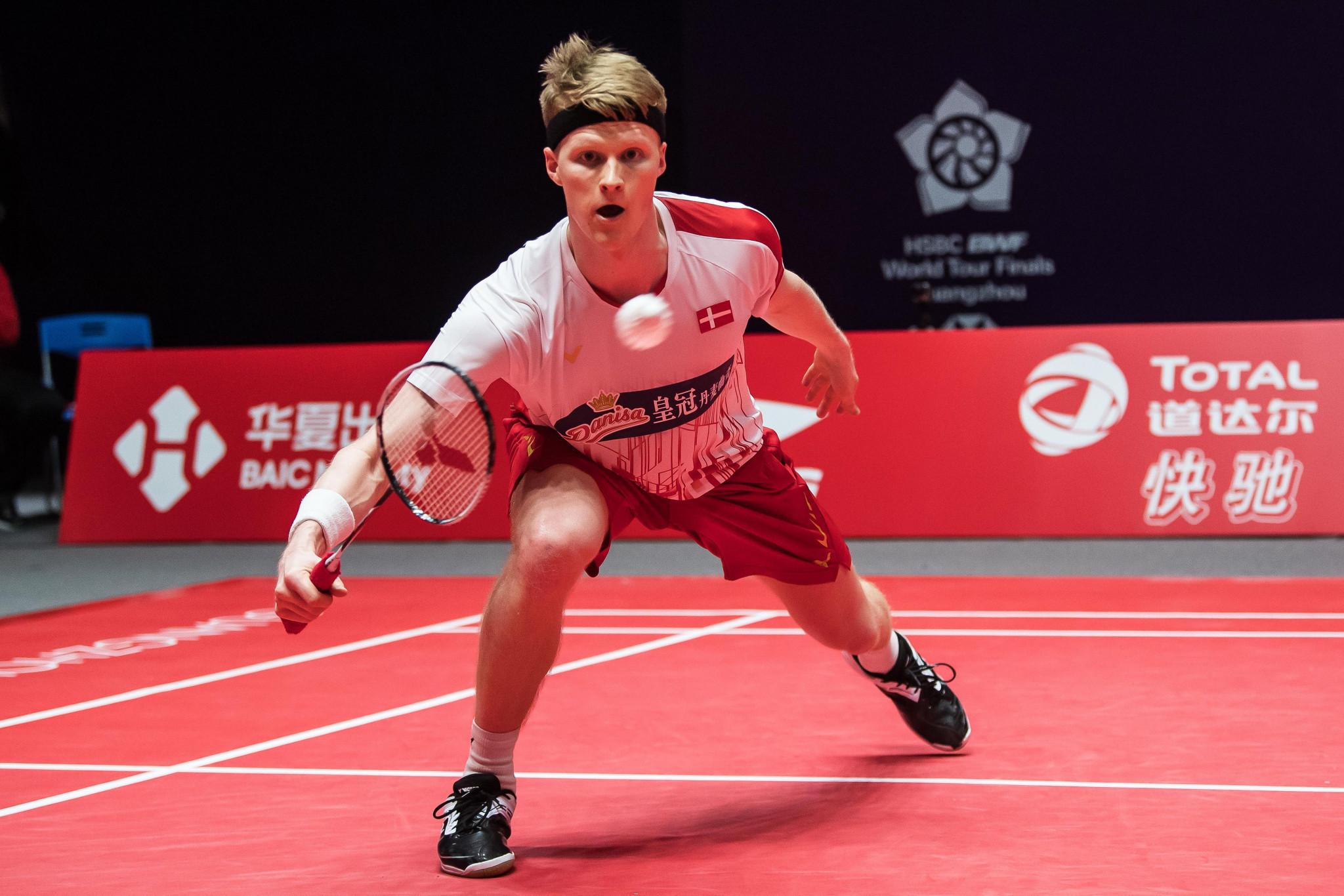 Danish men look to remain unbeaten at European Team Badminton Championships