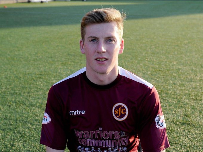 Conner Duthie spent last year at Stenhousemuir and will be able to return to the sport in 2021 ©Stenhousemuir FC