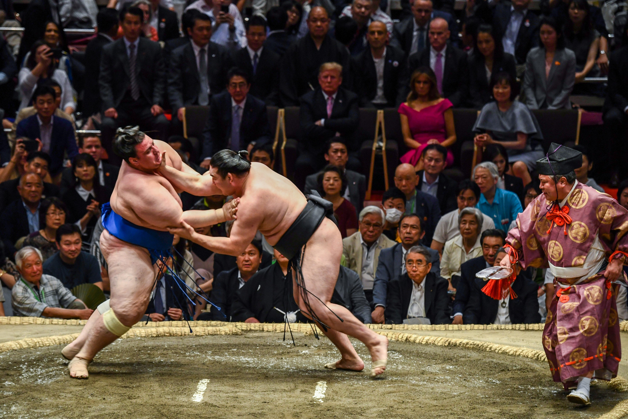 The Grand Sumo tournament has been confirmed as an addition to the calendar ©Getty Images