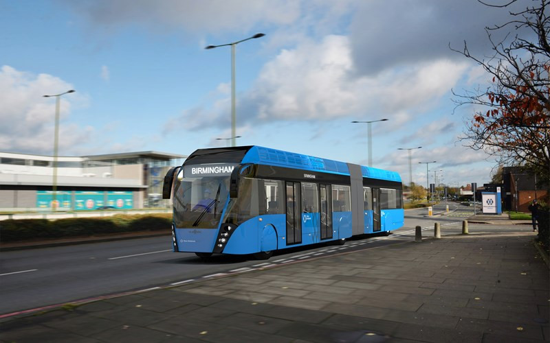 Birmingham set for first cross-city bus service in time for 2022 Commonwealth Games