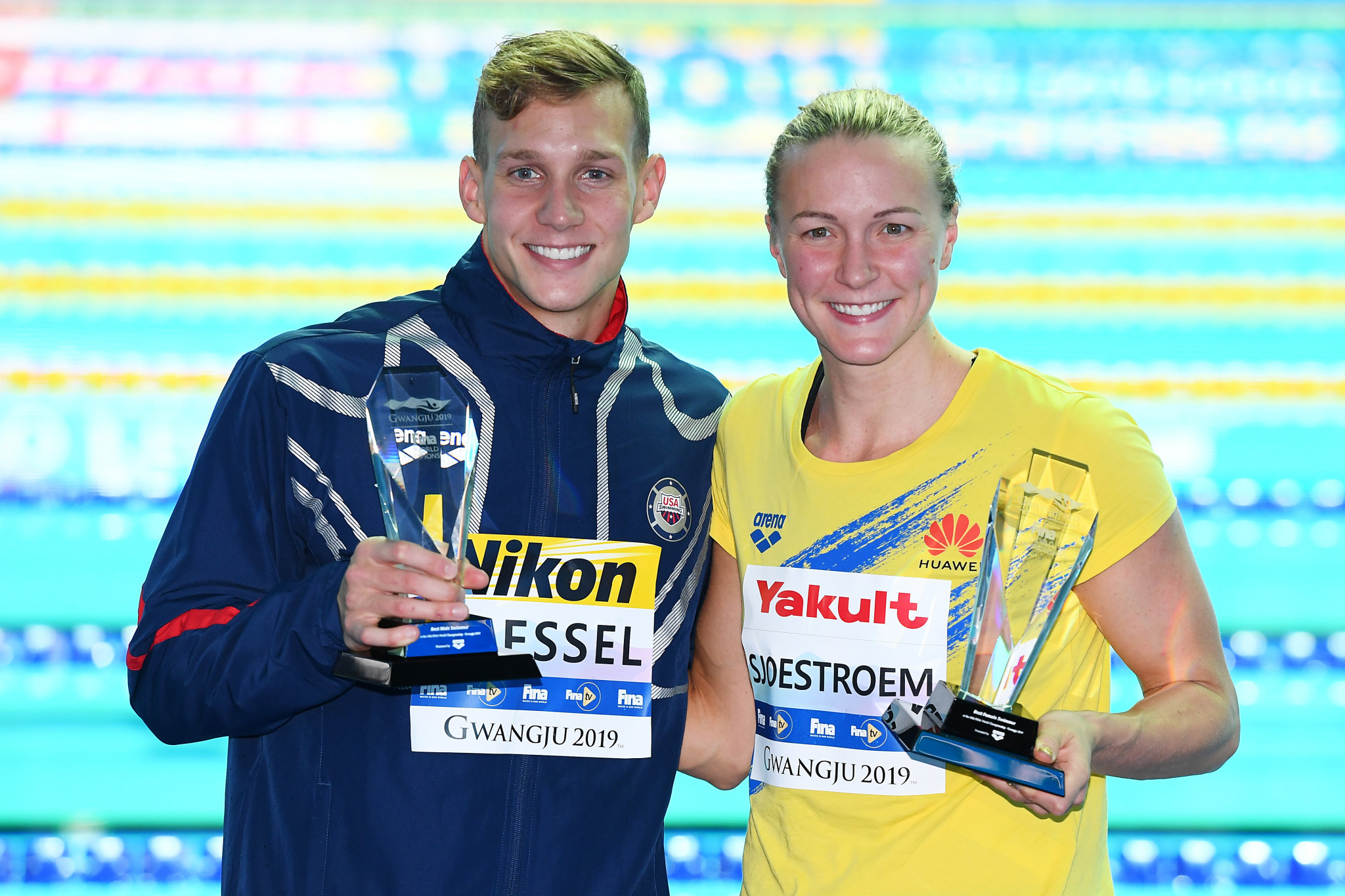 FINA announces athlete of the year winners over six disciplines