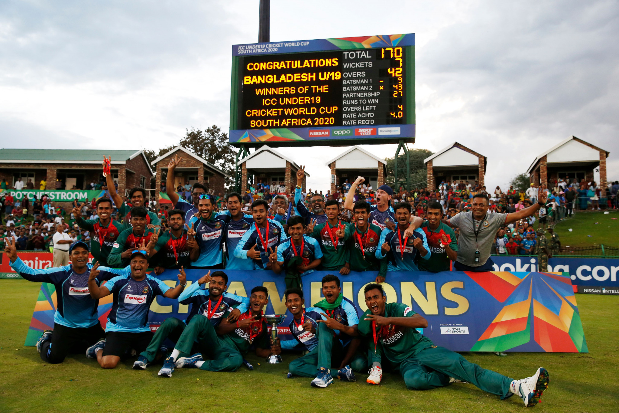 Five sanctioned after ugly scenes tarnish end of ICC Under-19 Cricket World Cup