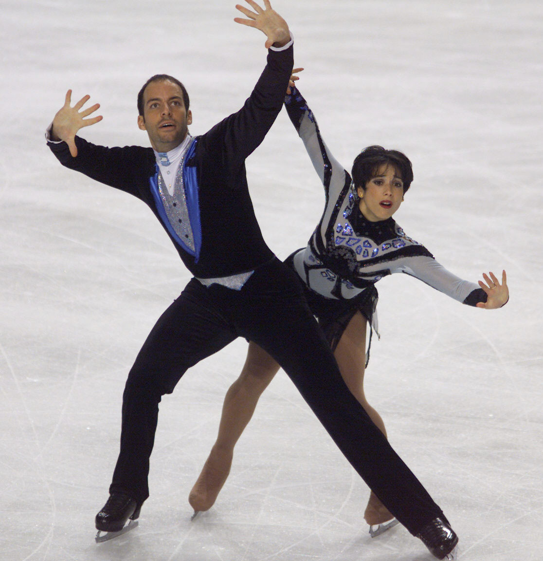Sarah Abitbol, performing here with pairs partner Stéphane Bernardis, has outlined allegations in a new book ©Getty Images