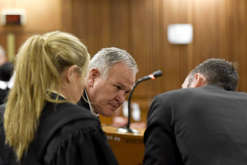 Defence lawyer Barry Roux confirmed that Oscar Pistorius will appeal his upgraded murder conviction for shooting girlfriend Reeve Steenkamp following a bail hearing today ©Getty Images