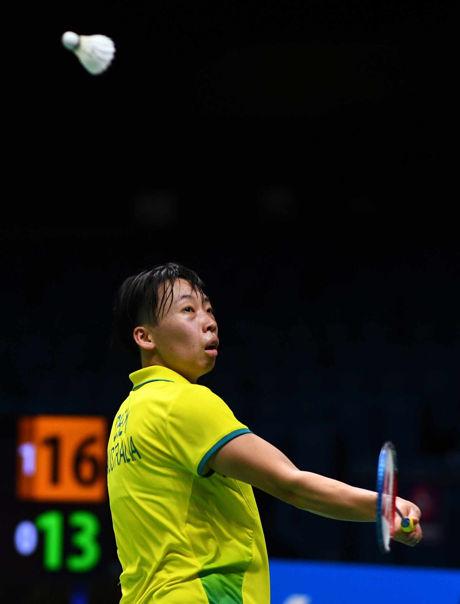 Chen remains on course for sixth title in a row at Oceania Badminton Championships