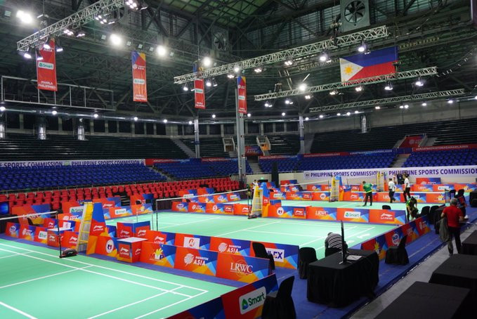 Hosts Philippines endure miserable day as Badminton Asia Team Championships begin