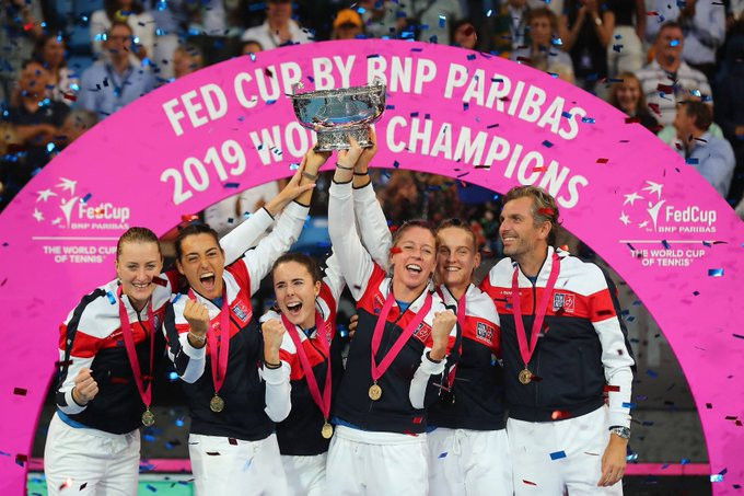 Holders France drawn against Russia and Hungary for Fed Cup Finals