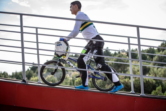 Kai Sakakibara has been placed into a medically induced coma following his crash at the UCI Supercross World Cup in Bathurst ©BMX Australia