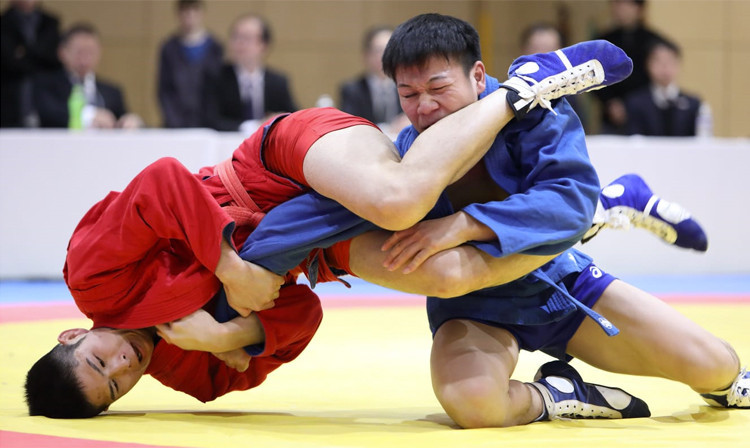 More than 100 compete at  Japan Sambo Championships