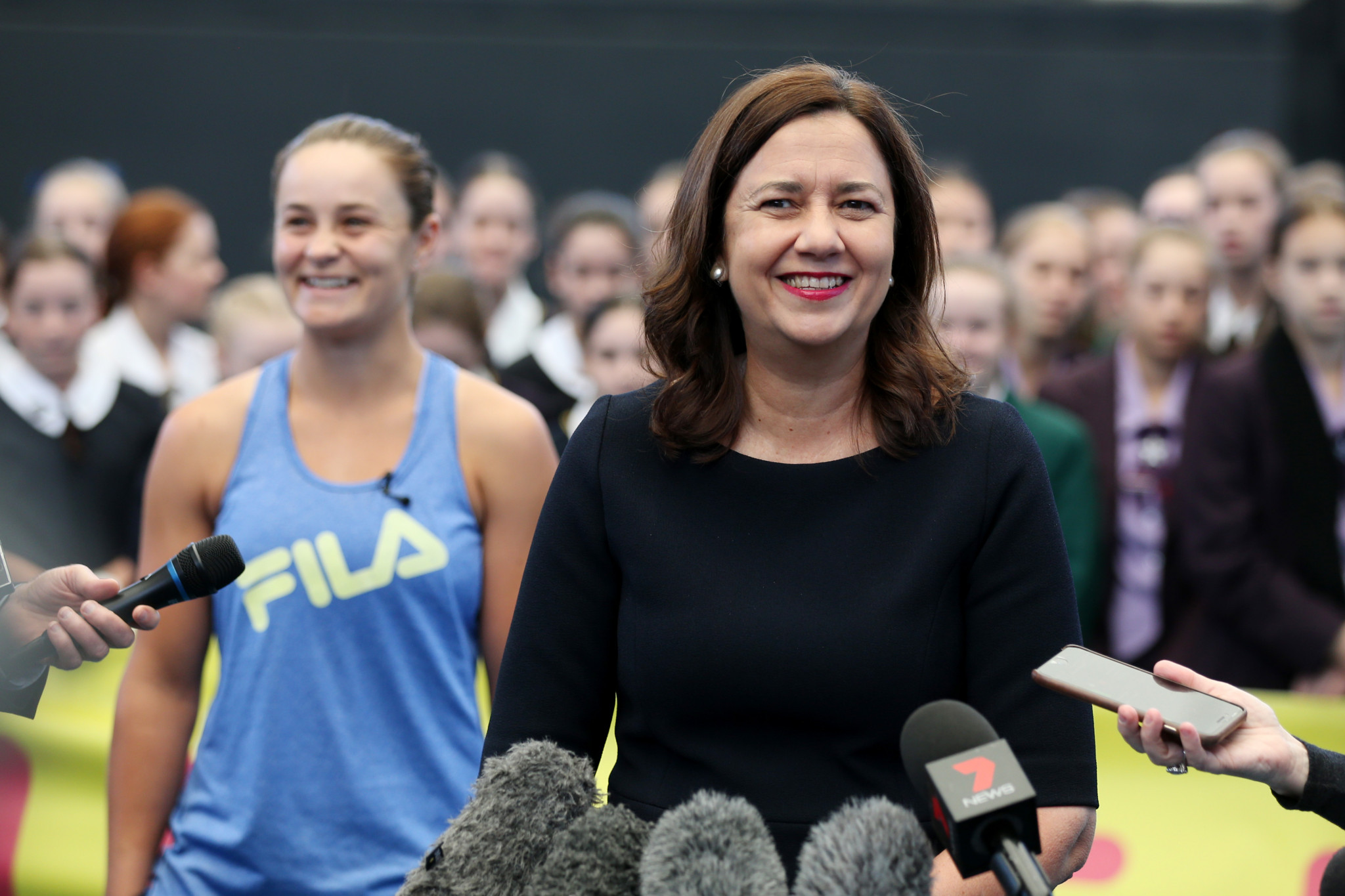 Queensland Premier Annastacia Palaszczuk claimed the economic benefits from hosting the Games would be