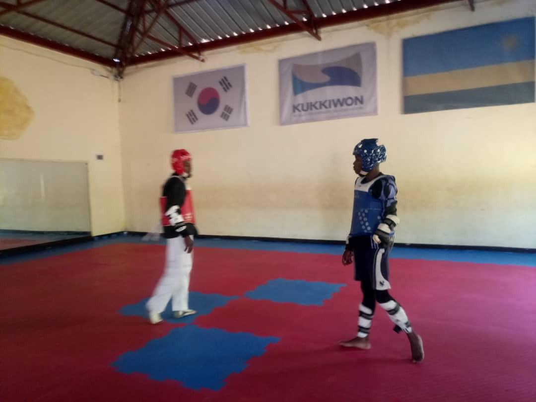 Taekwondo is an emerging sport in Rwanda ©RTF