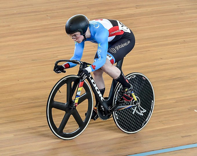 Kate O'Brien has been nominated for the January award ©Twitter/Cycling Canada