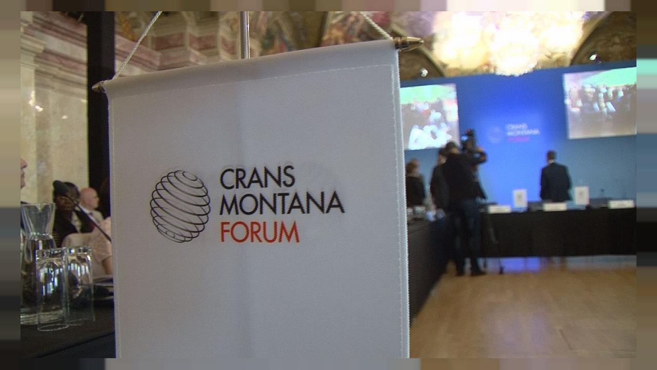 The Crans Montana Forum aims to connect influential decision-makers together to help improve society