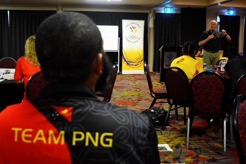Papua New Guinea Olympic Committee hold Games preparation workshop