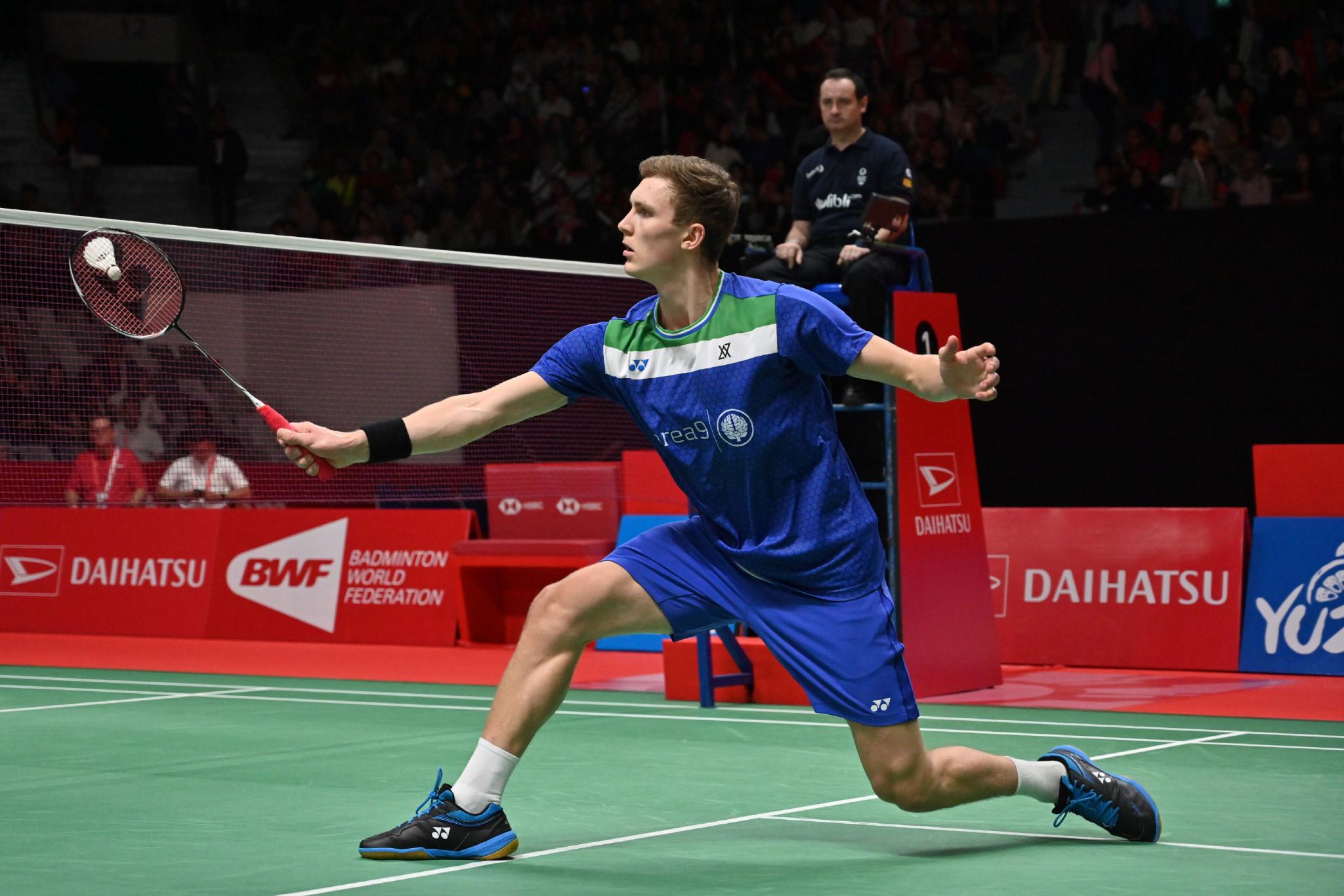 Denmark thrash Latvia to continue winning start at European Team Badminton Championships