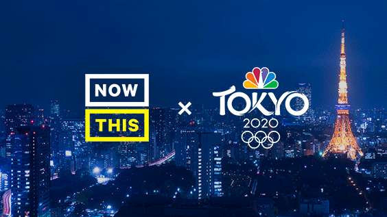 NBC is teaming up with NowThis to produce a series of short films ahead of the 2020 Olympic and Paralympic Games in Tokyo ©NowThis