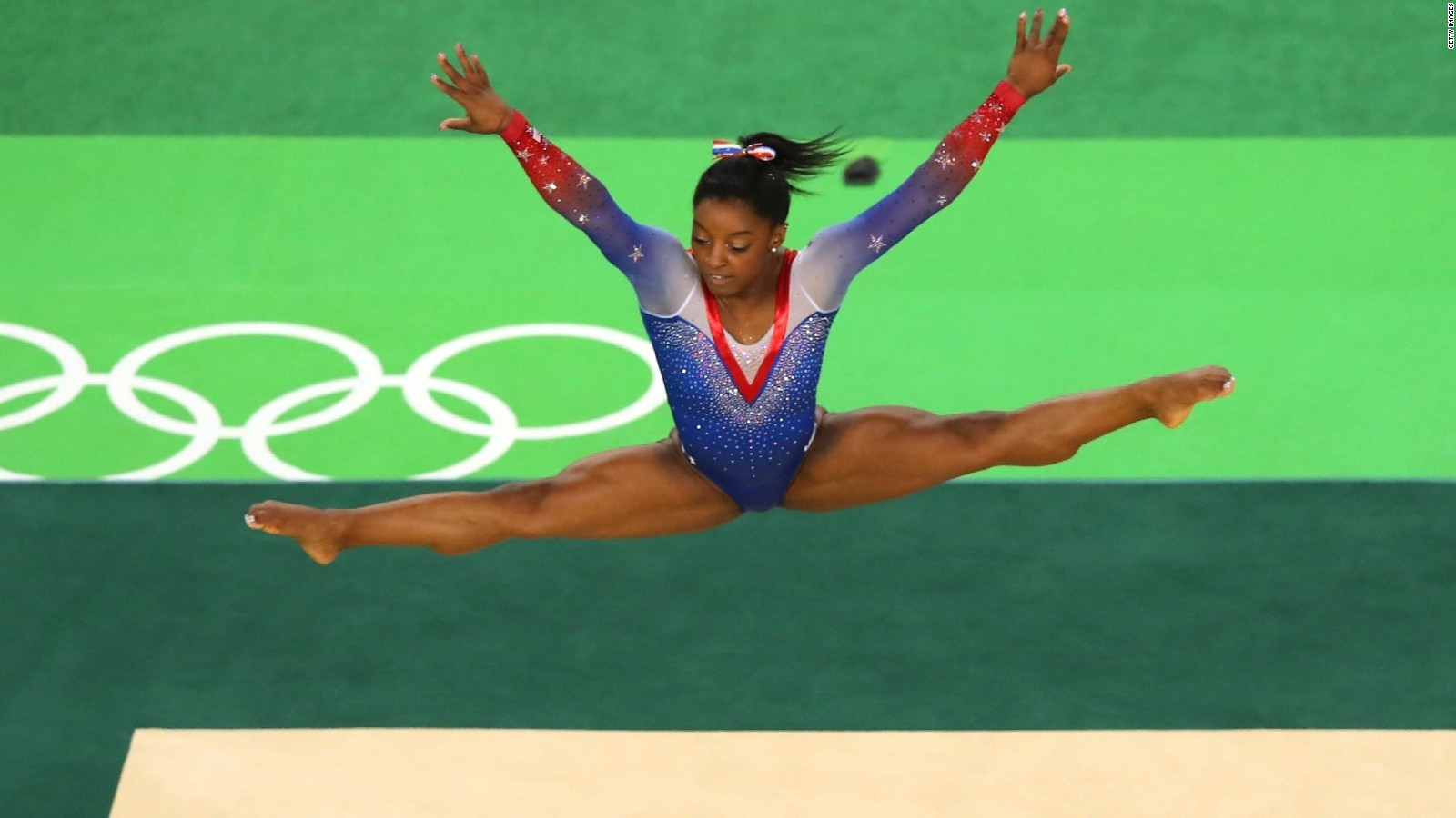 Gymnast Simone Biles is expected to be one of the stars of the United States team at Tokyo 2020 ©Getty Images
