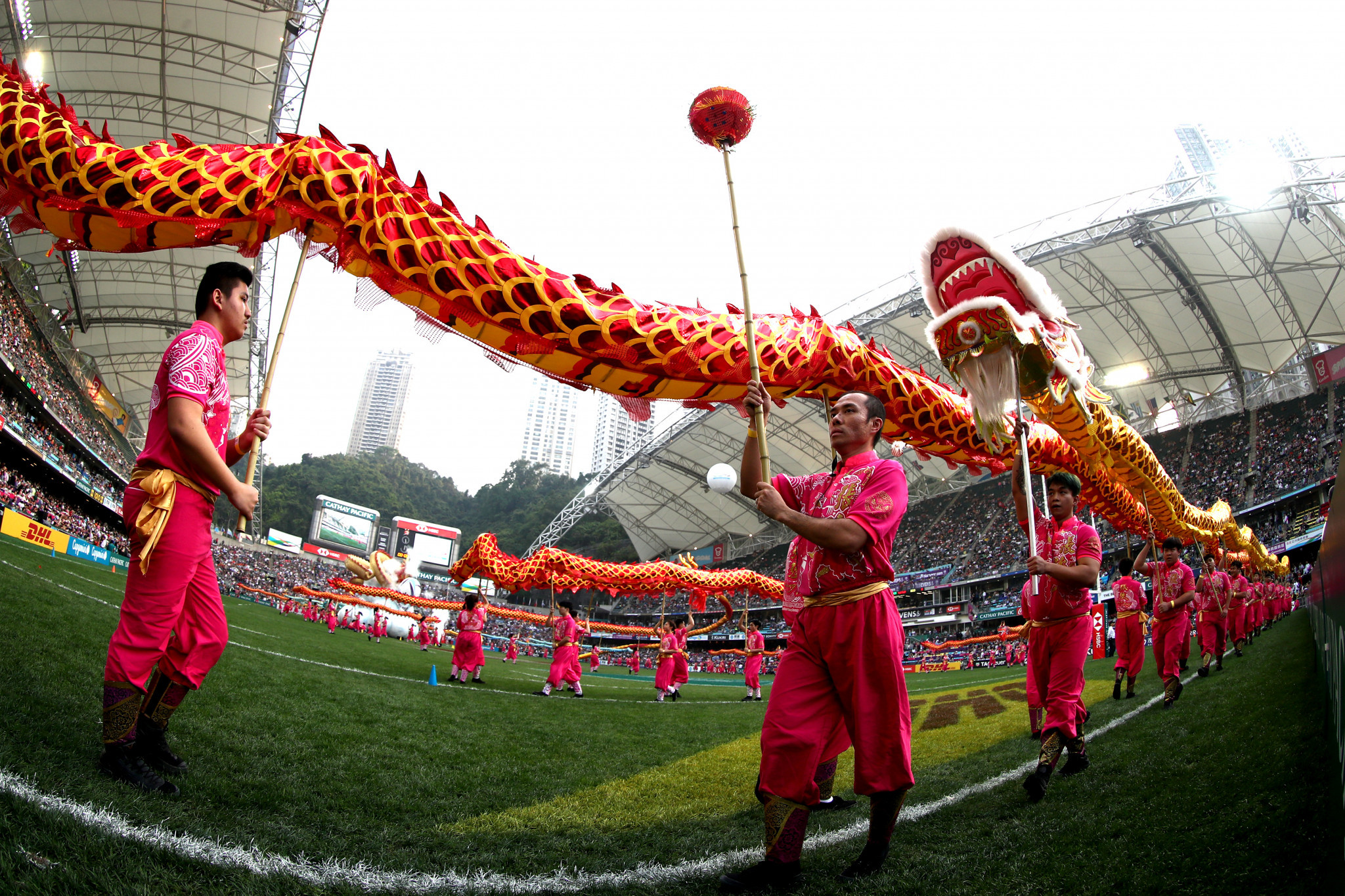 Organisers had initially said there were no plans to postpone the Hong Kong Sevens ©Getty Images