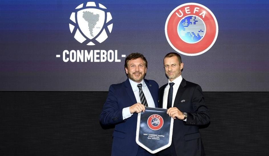 UEFA and CONMEBOL renew Memorandum of Understanding to enhance cooperation