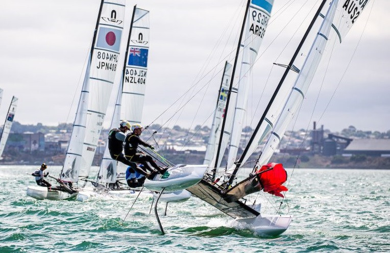 Racing continued across all three classes ©Sailing Energy