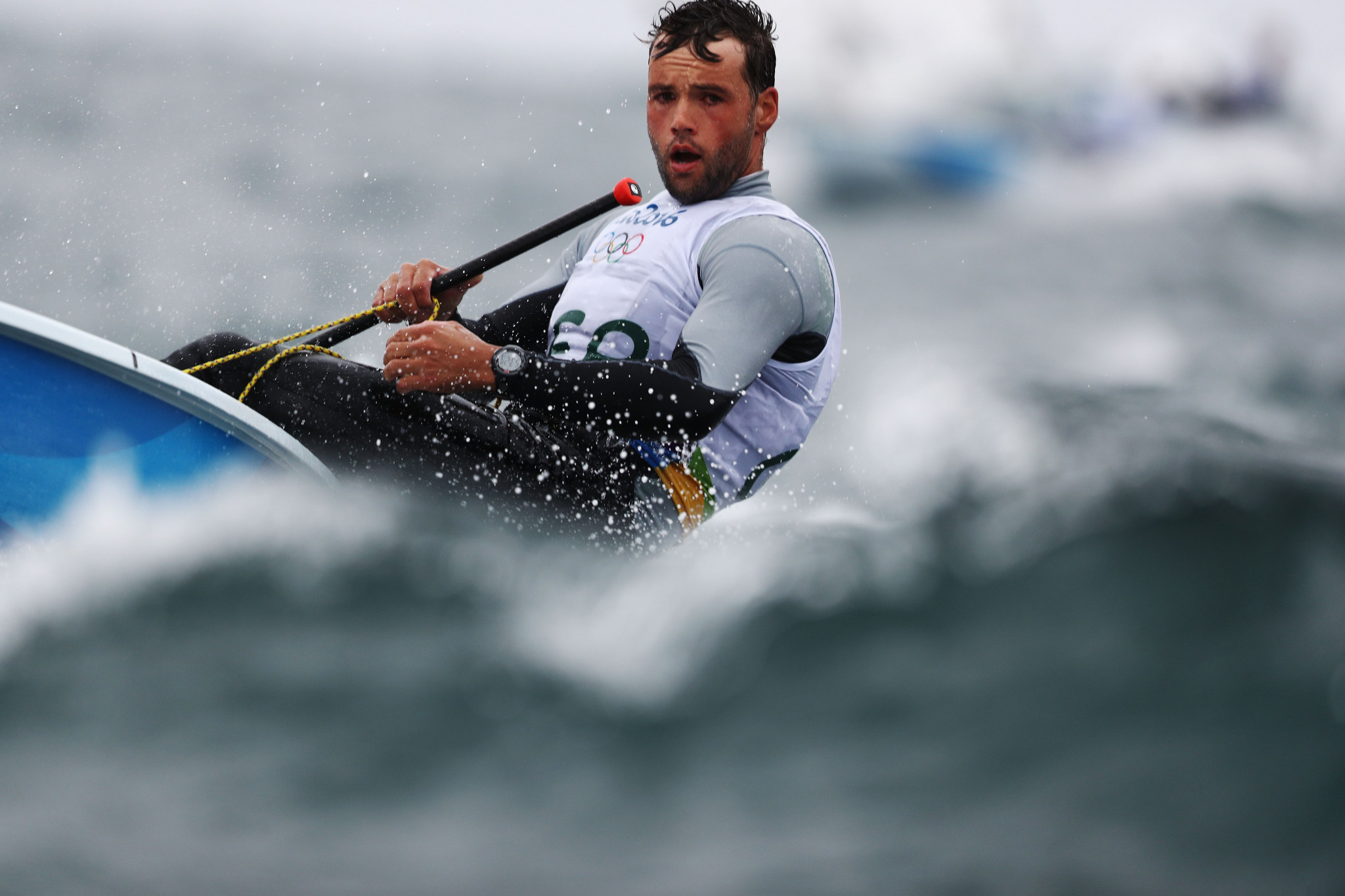 Buhl takes top spot on his own at Laser Standard World Championships