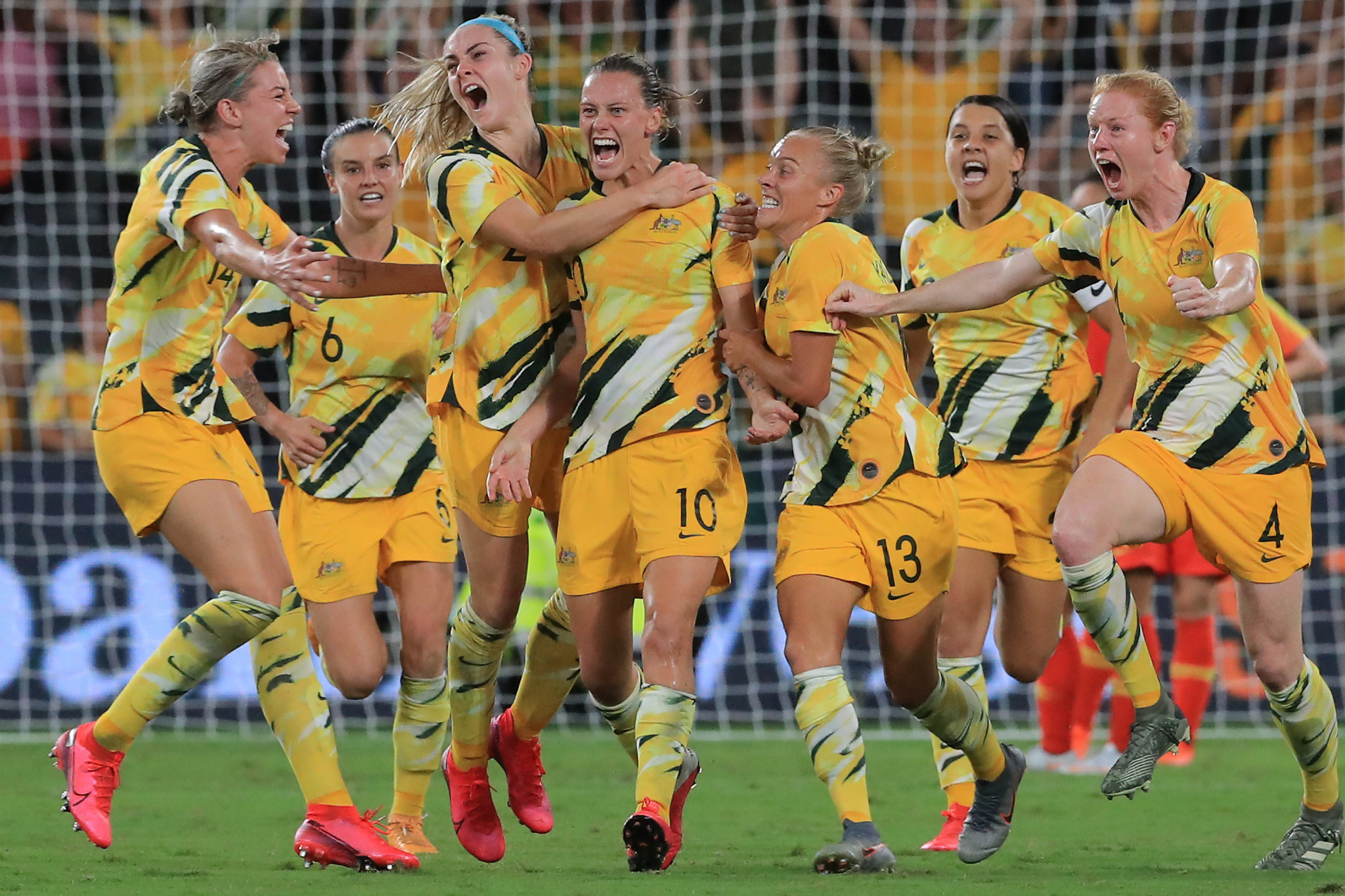 Australia strike late to win group at AFC Women's Olympic Qualifying Tournament