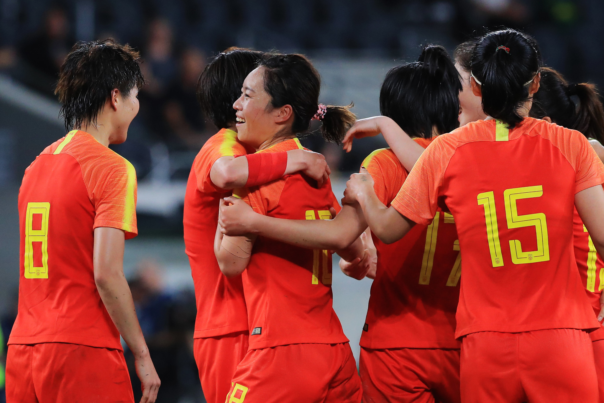 China thought they had won the game in the 86th-minute ©Getty Images