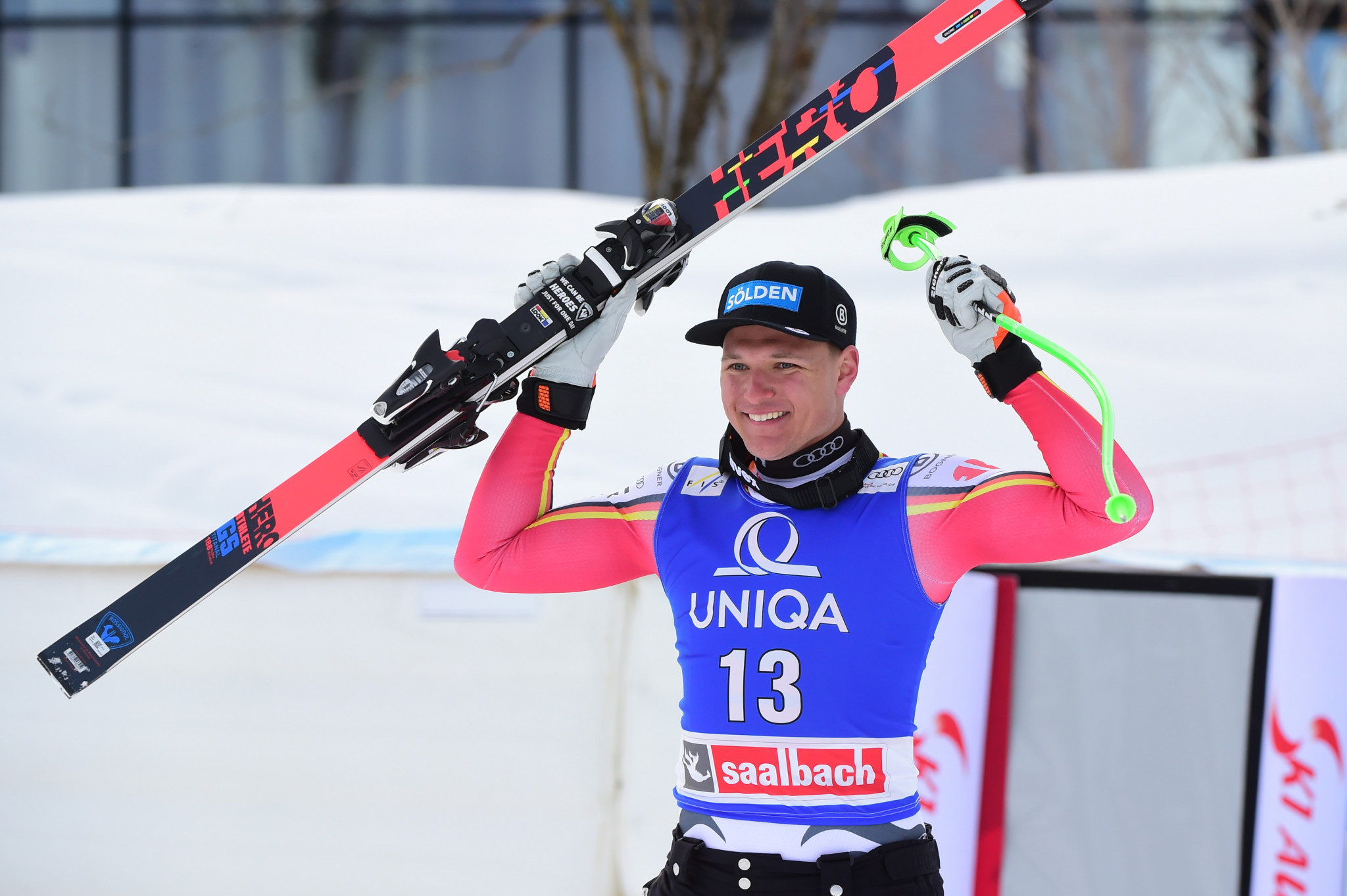Dressen wins second downhill event in a row on FIS Alpine Ski World Cup tour