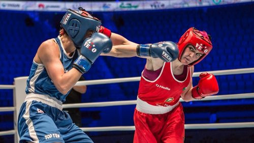 Kellie Harrington is among the 13 boxers named on Ireland's team for next month's Tokyo 2020 Olympic Qualifying Tournament for Europe ©IABA