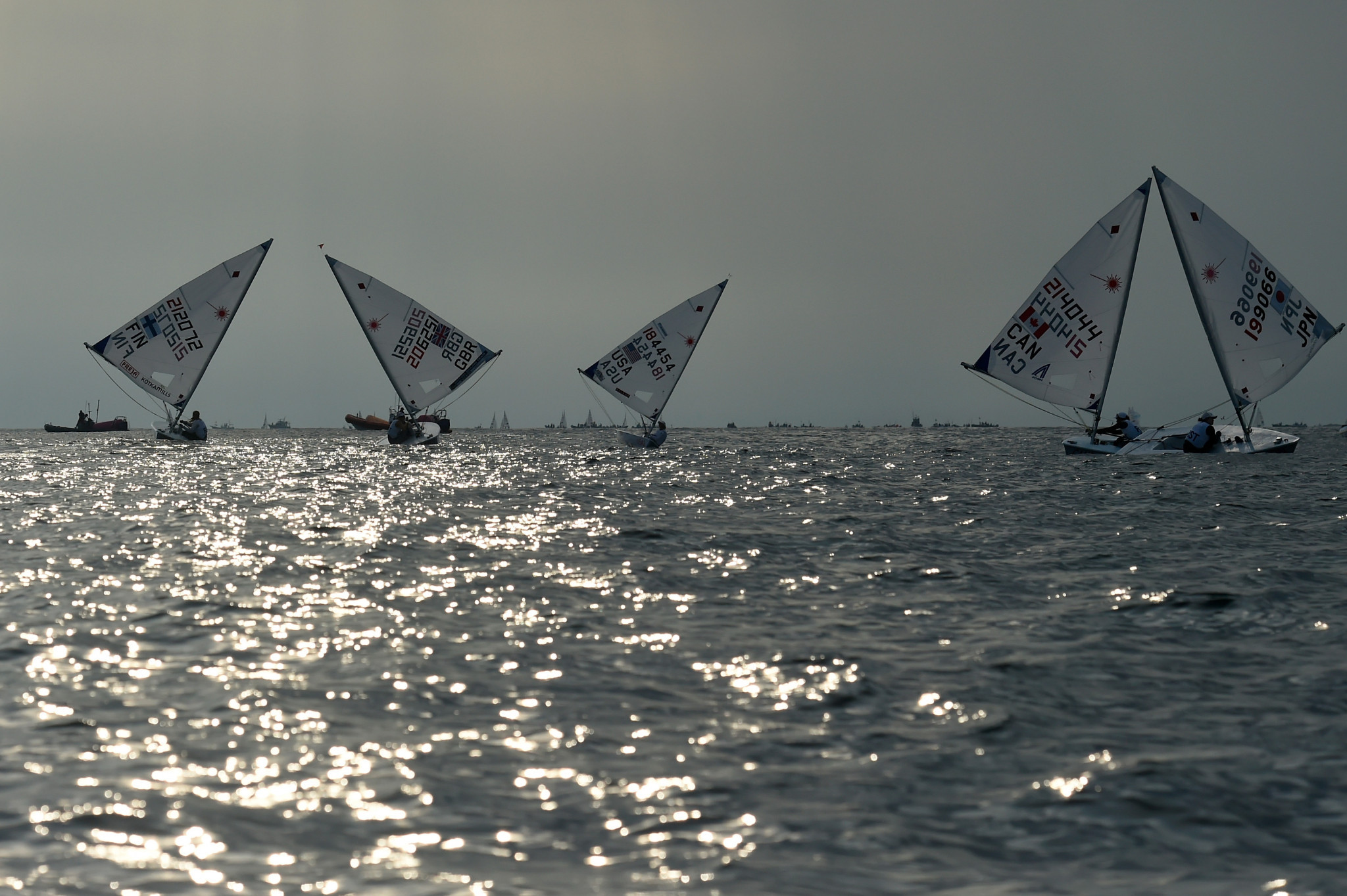 Racing at Laser Standard Men's World Championships postponed due to strong winds
