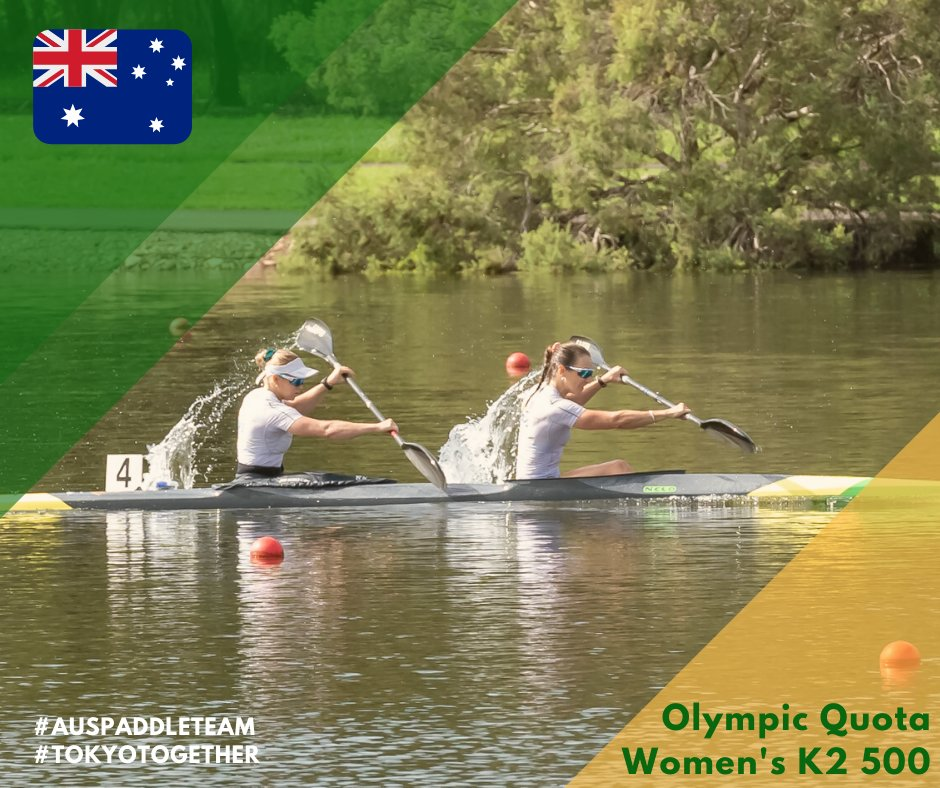 Australian athletes earn Tokyo 2020 quotas at Oceania Canoe Sprint Championships