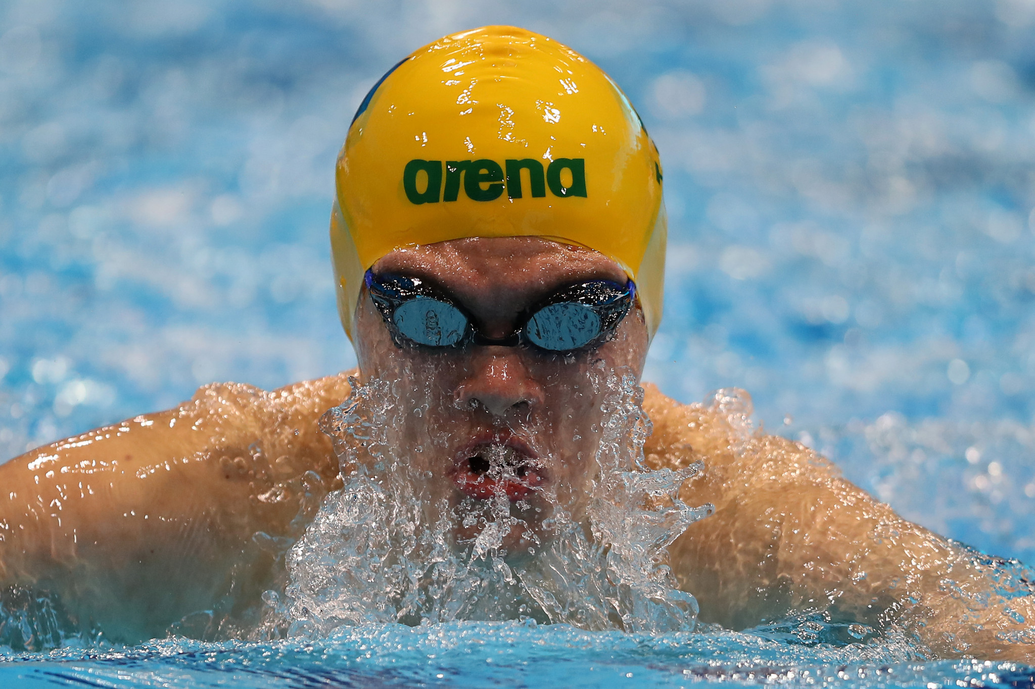 Australia's Timothy Hodge took the win in the men's 100m butterfly ©Getty Images