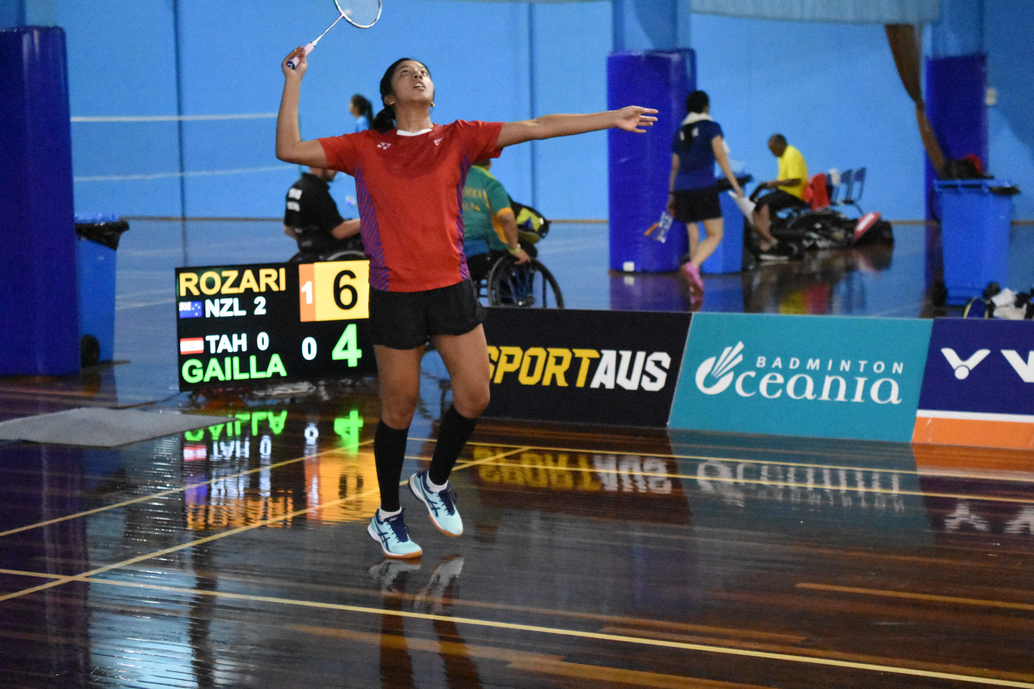 New Zealand and Australia set for top-of-the-table clash at Oceania Badminton Championships