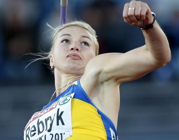 European javelin champion Vera Rebrik is among the athletes who have transferred from Ukraine to Russia ©Getty Images