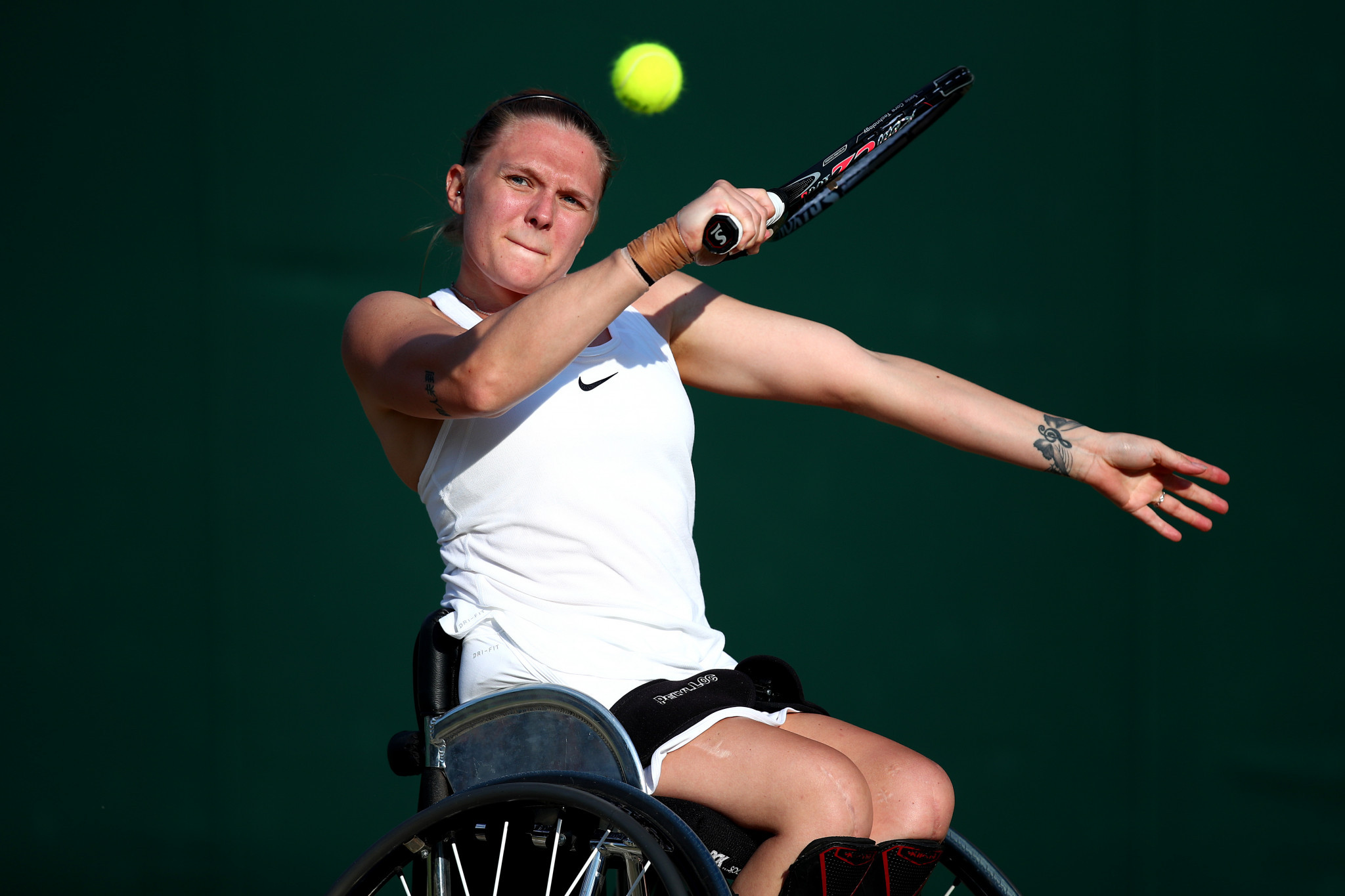 Jordanne Whiley has won all four doubles Grand Slams in 2014 ©Getty Images