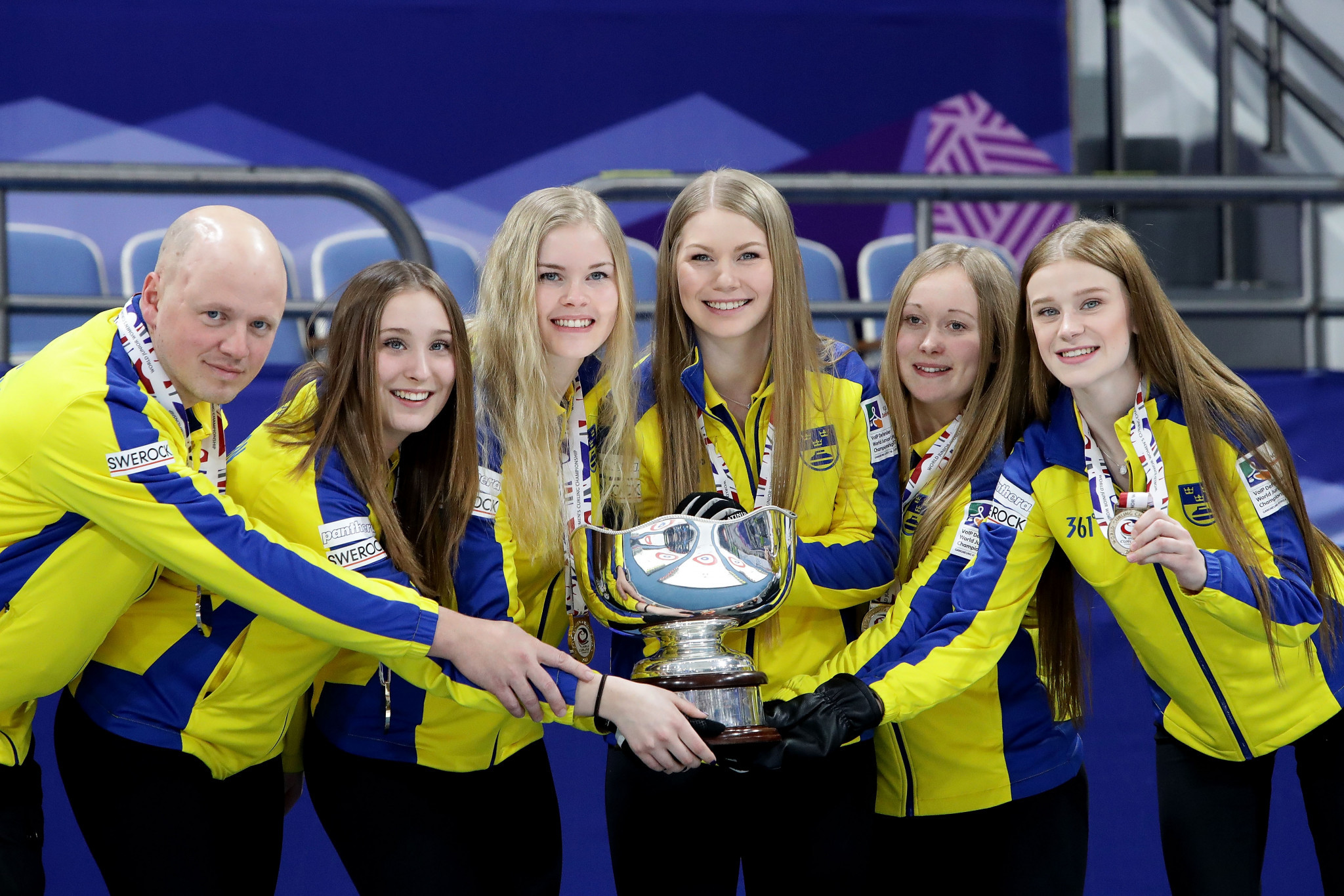 Sweden last won the women's title in 2017 with skip, Isabelle Wrana ©Getty Images